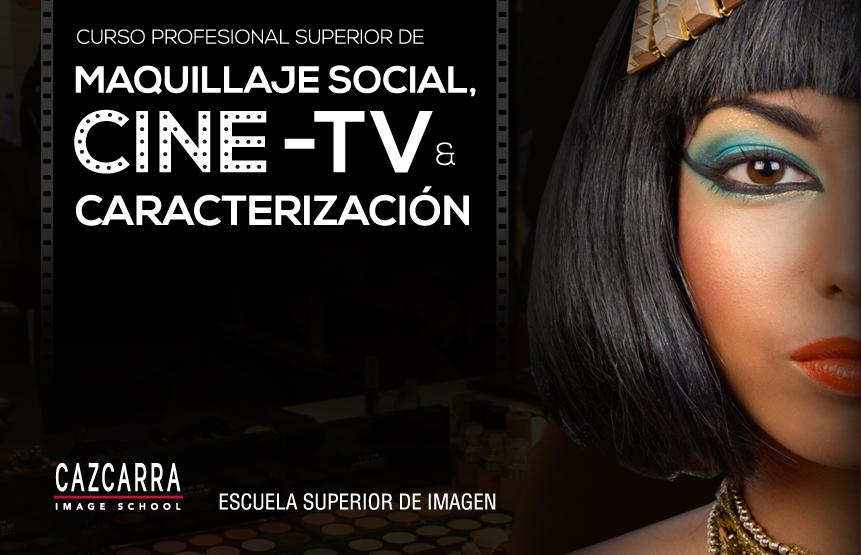 Curso Profesional Superior de Maquillaje Social, Cine-TV y Caracterización Online