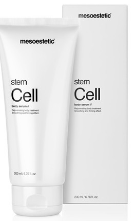 stem cell body serum de mesoestetic con packaging